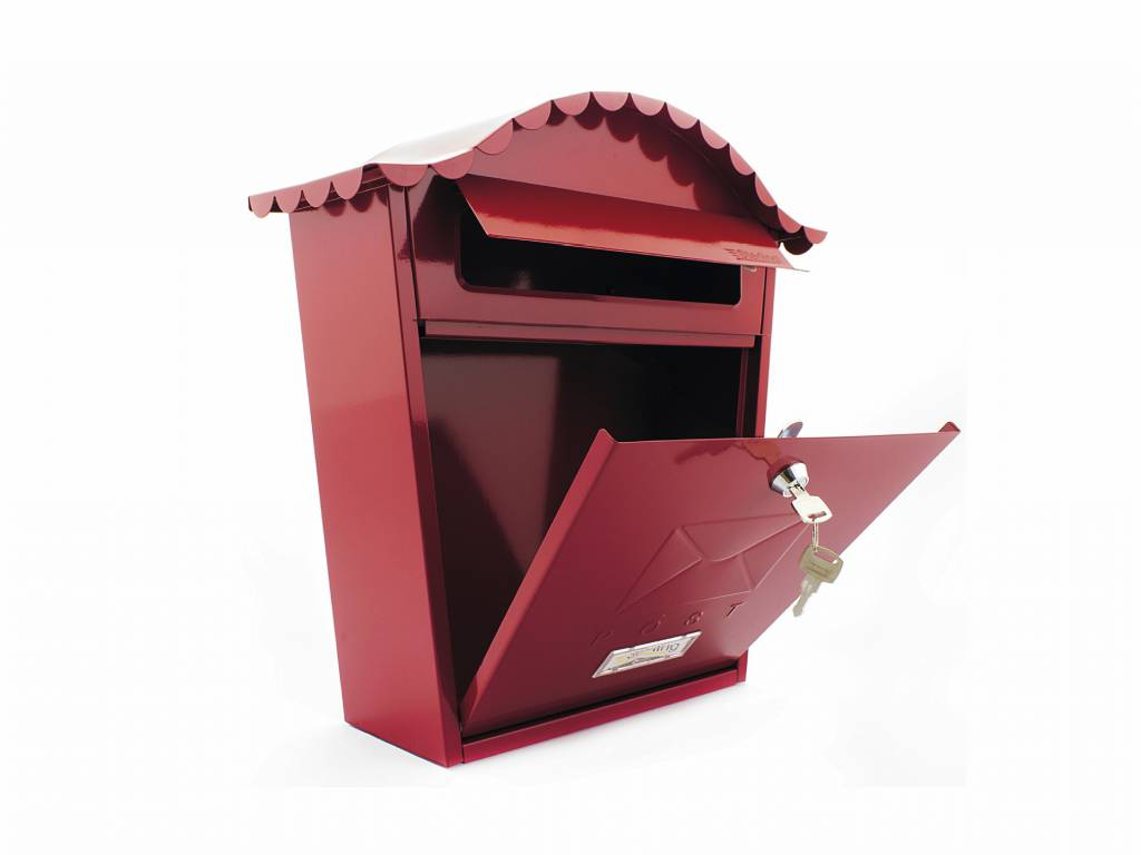 Mail Box Red Mb01R