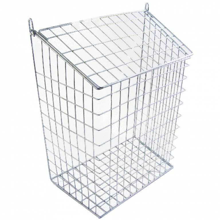 Letter Cage 62M Ch 14'X10'X6' Chromium Plated